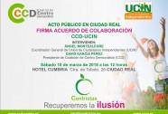 UCIN firmara un acuerdo de colaboración con CCD