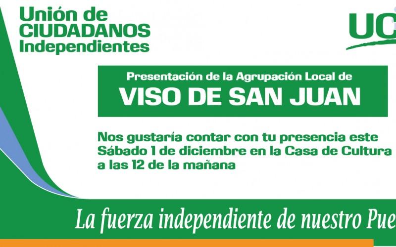 Presentación de la Agrupación de Viso de San Juan