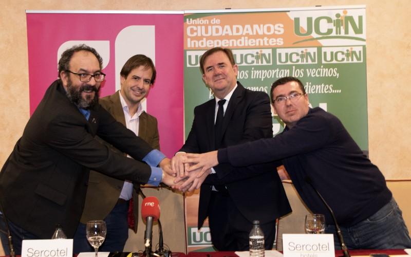 UCIN y UPyD sellan su alianza en CLM para presentar candidatura autonómica y municipal.