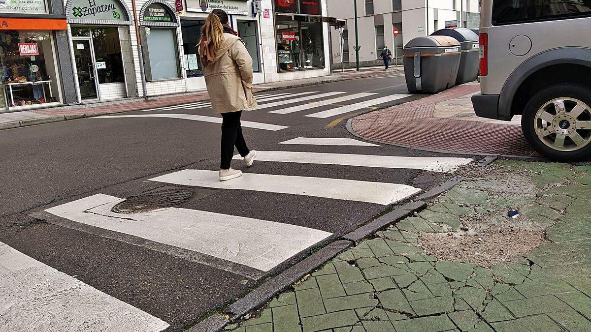UCIN Langreo reclama un plan de mejora en vias públicas